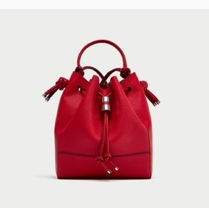 ZARA knotted Buckle Bag